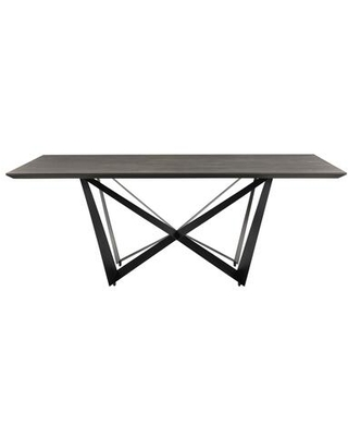 Brolio Collection RP 1007 07 Dining Table with Iron Legs - moes home collection