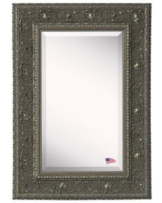Astoria Grand Traditional Accent Mirror Metal in Gray/White, Size 31.5 W x 1.5 D in | Wayfair ASTG7871 37739040