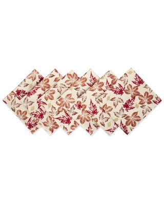 Rustic Leaves Napkin 20x 100% Cotton - dii