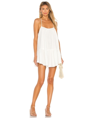 Lovers and Friends Loki Mini Dress in White. - size M (also in L, S, XL, XS)