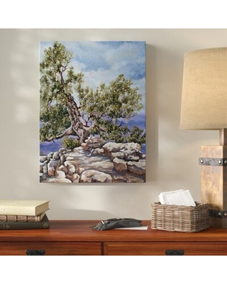 Grand Canyon Rim' Acrylic Painting Print on Wrapped Canvas - millwood pines