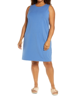 Organic Stretch Cotton Tank Dress at Nordstrom - eileen fisher