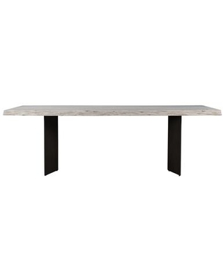 Joshua Collection VE 1086 18 Dining Table with Iron Legs - moes home collection