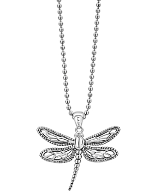 Sterling Rare Wonders Dragonfly Pendant Necklace 34 - lagos