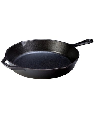Pre Seasoned 12 Inch Cast Iron Skillet with Assist Handle - lodge