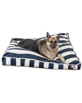 Polyester Rectangular 50 in x 42 in Dog Bed For Extra Large 788995504184 - majestic pet products