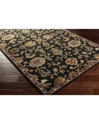 Hand Tufted Yate Floral Wool Runner - undefined
