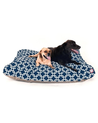 Polyester Rectangular 50 in x 42 in Dog Bed For Extra Large 788995504313 - majestic pet products