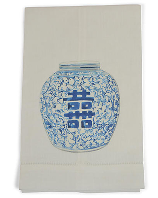 Happiness Jar Guest Towels - the french bee