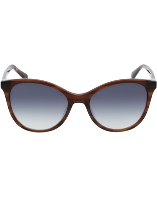 Le Pliage Cat Eye Sunglasses in Striped Bronze at Nordstrom - longchamp
