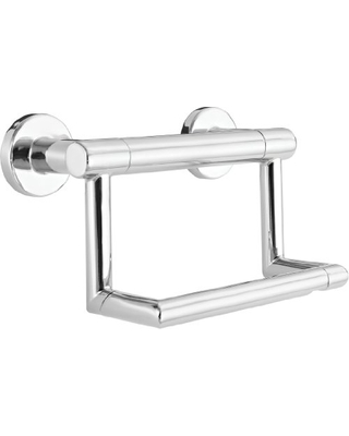 41550 Contemporary Pivoting Tissue Holder Assist Bar Polished - delta faucet