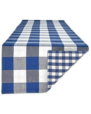 Gingham Check Table Runner Collection 14x108 - dii