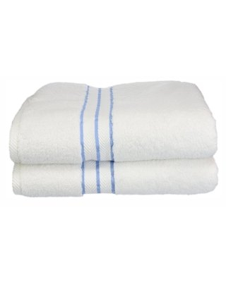 Turkish Cotton Plush 2 Piece Solid Highly Absorbent Light by Superior - impressions