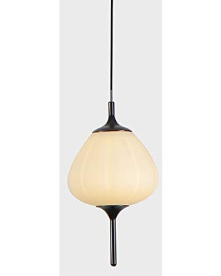 Lecce VAP2221BL tegrated LED Pendant Lighting Fixture with Glass Shade H - vonn lighting
