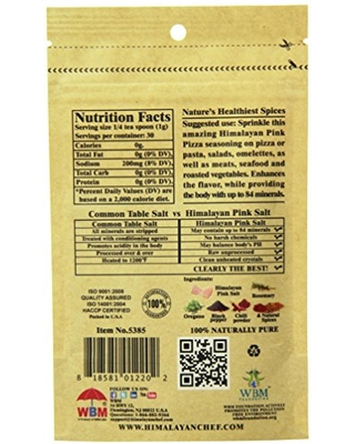 Pink Salt & Steak Seasoning Pouch Add To Your Cart - himalayan chef