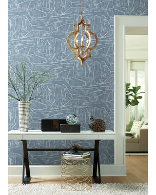 Chalk Peel and Stick Wallpaper Roll - york wallcoverings