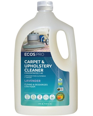 Lavender 1 40 Concentrate Carpet and Upholstery Cleaner - ecos pro