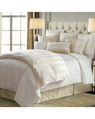 Hollywood 4 PC Comforter Set Super Queen - hiend accents