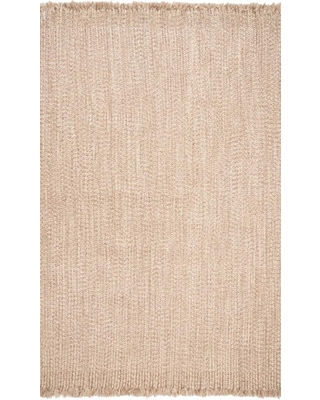 8 x 10 Braided Outdoor Solid Area Rug HJFV11E 76096 - nuloom