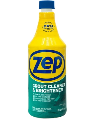 32 fl oz Grout Cleaner and Brightener - zep