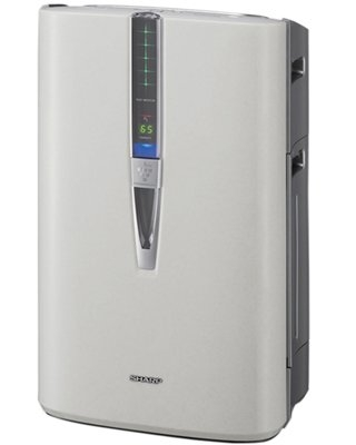 Plasmacluster(r) Air Purifier with True HEPA Filtration and Humidifying Function for Large Rooms - sharp