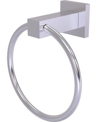 Allied Brass Montero Collection Towel Ring in Satin Chrome