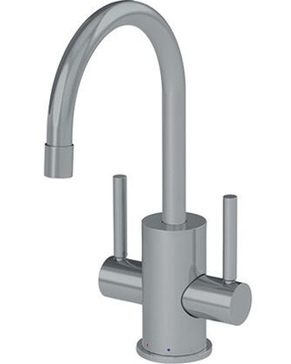 Pescara Collection LB16280 5 GPM Deck Mounted Little Butler Hot and Cold Filtered Faucet in Satin - franke