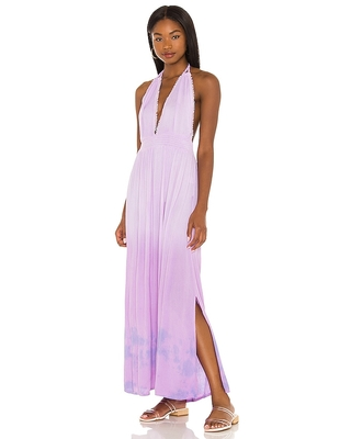 Marilyn Maxi Dress in Lavender also in S M - tiare hawaii