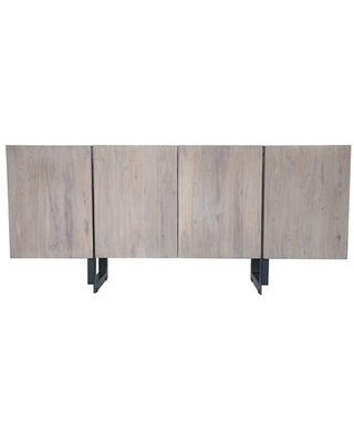 Tiburon Collection SR 1016 29 Sideboard with Iron Base - moes home collection