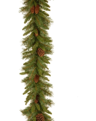 9 ft Pine Cone Garland - national tree company