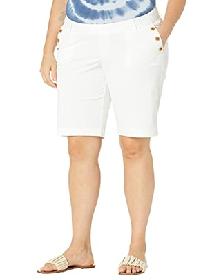 Tommy Hilfiger Women's Adaptive Seated Shorts with Velcro Brand Side Closure - tommy hilfiger adaptive