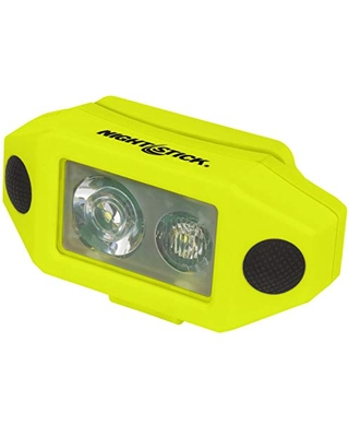 XPP 5460GCX X Series Intrinsically Safe Low Profile Dual Light Headlamp with Hard Hat Clip - nightstick