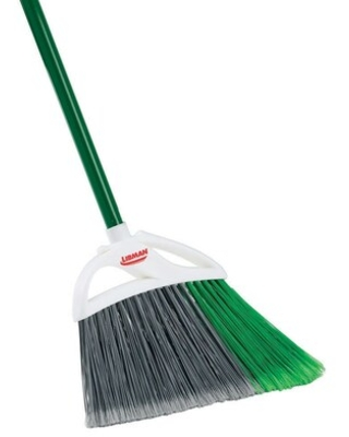 Large Precision Angle Broom Steel Handle #205 Quill - libman