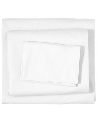 400 Thread Count 100% Cotton Percale Sheet Set - bare home