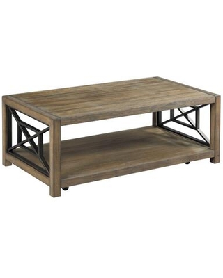 Synthesis Hamilton Collection 839 910 RECTANGULAR COCKTAIL TABLE in Aged Oak - hammary
