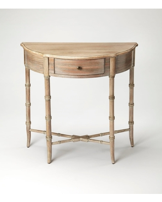 Butler Skilling Driftwood Demilune Console Table - butler specialty company