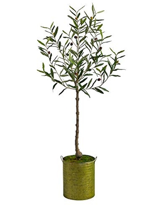 5ft Artificial Tree Planter - nearly natural