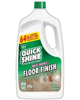 Multi Surface Floor Finish and Polish Refill Bottle 2 Bottles included - quick shine