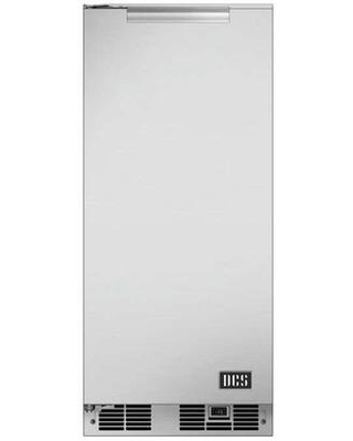 RF15IL1 UL Listed Outdoor Left Hinge Ice Maker with 35 lbs Daily Ice Production 304 Stainless Steel Construction and Weather Resistant in - dcs