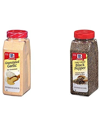 Table Ground Pepper with Granulated Garlic - mccormick