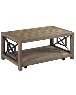 Synthesis Hamilton Collection 839 913 SMALL RECTANGULAR COCKTAIL TABLE in Aged Oak - hammary