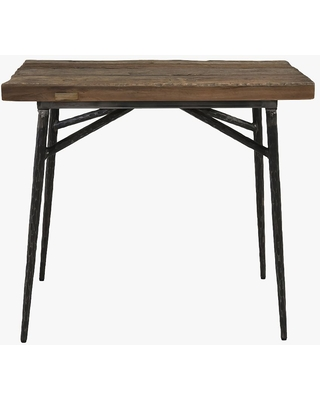 Winston Rectangular Reclaimed Wood End Table Natural - undefined
