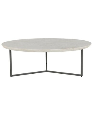 Chloe Collection GK 1110 18 Coffee Table with Marble Top - moes home collection
