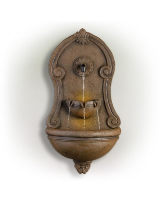 32 in H Resin Wall Fountain Outdoor Fountain TZL158 - alpine corporation