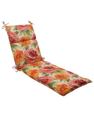 Outdoor Indoor Muree Primrose Chaise Lounge Cushion 1 Count - pillow perfect