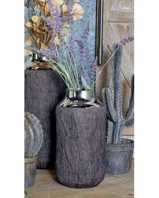 Wilclay Stoneware Table Vase - union rustic