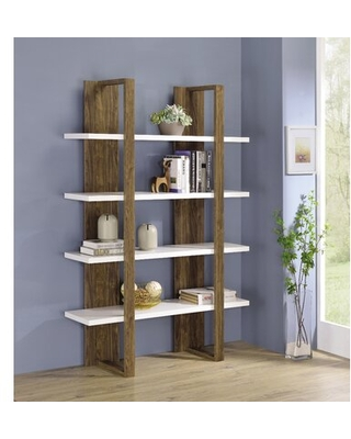 Shore Etagere Bookcase - sand & stable
