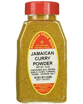 Marshall's Creek Spices Curry Powder Jamaican New Size - marshall's creek spices