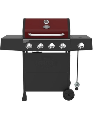 4 Burner with Side Burner Propane Gas Grill - expert grill