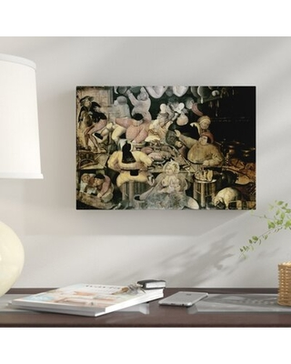 The Rich Kitchen' Graphic Art Print on Canvas - east urban home